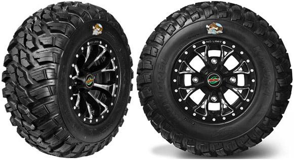 Four Wheeler Tyres : Gbc kanati mongrel atv street tires dot