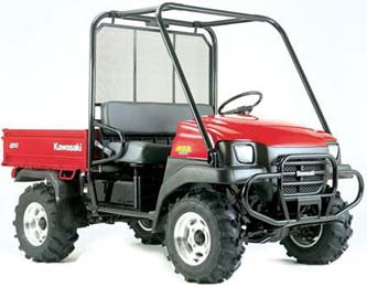 kawasaki Mule tire and wheel package deal