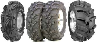 ATV tires and wheels package deals, tires for honda, suzuki, yamaha, kawasaki
