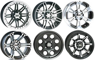 ITP ATV wheels, aluminum atv wheels, steel atv wheels