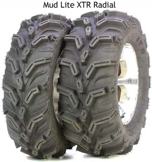 ITP Mud Lite XTR, ATV Mud Light XTR Bigfoot Kit