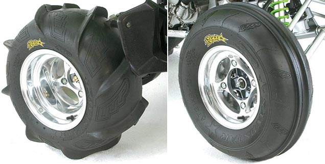 ITP Sand Star ATV sand tires